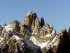 La Croda dei Toni nelle Dolomiti d\'Auronzo ripresa da Pian dei Buoi