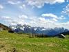 La corona di cime delle Dolomiti d\'Oltrepiave dal Palù Gran di Pian dei Buo