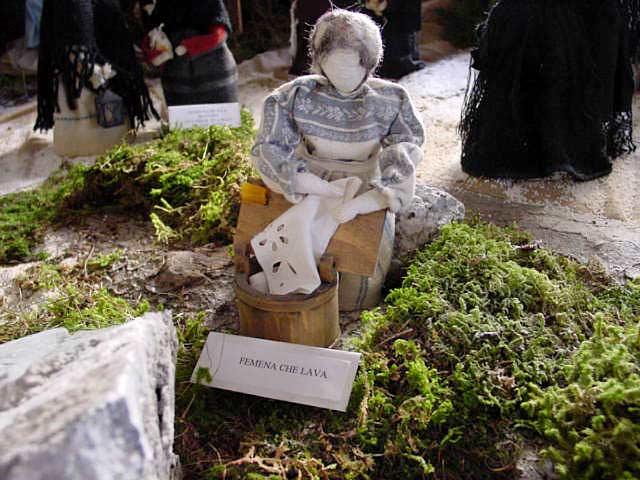 Museo della Latteria 2001 - Presepio con le