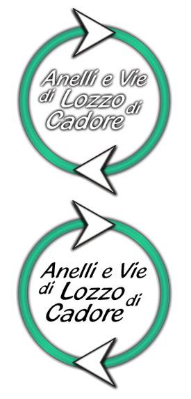 logo Anelli e Vie di Lozzo di Cadore - percorsi escursionistici