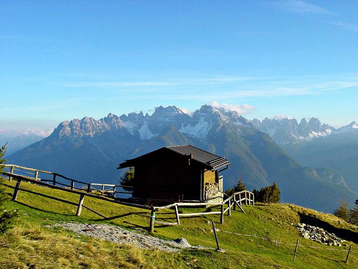 Le Dolomiti d'Oltrepiave, dal Miaron a Cima Spé