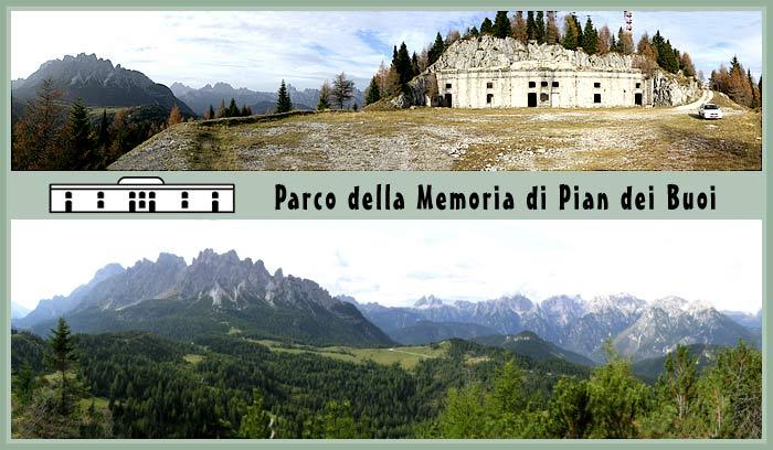 immagine introduttiva al progetto del Parco della Memoria di Pian dei Buoi