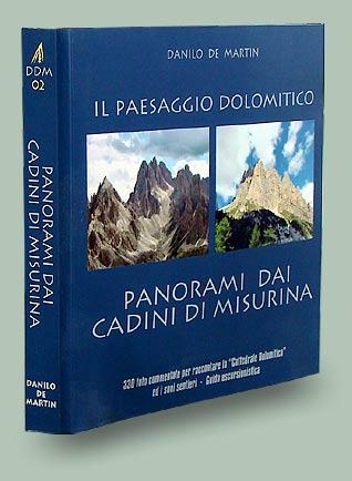 copertina libro Panorami dai Cadini di Misurina - Collana Il paesaggio dolomitico