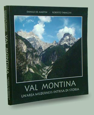 copertina libro Val Montina: un'area wilderness intrisa di storia