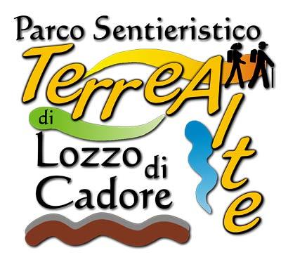 foto del logo del Parco sentieristico Terre Alte di Lozzo di Cadore