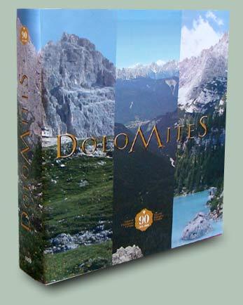 copertina libro Dolomites, a cura di P.C. Begotti e E. Majoni