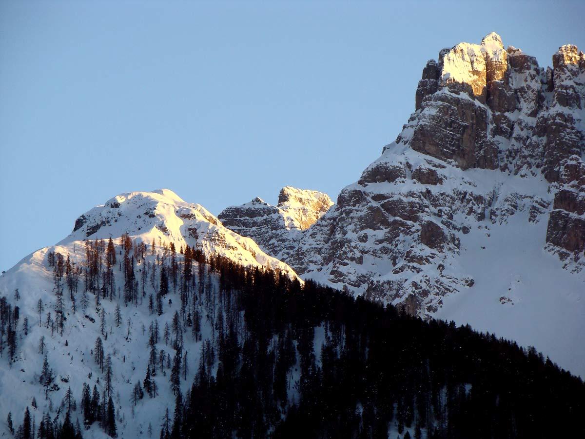 Col de la Cros, Col Agudo e Montanel