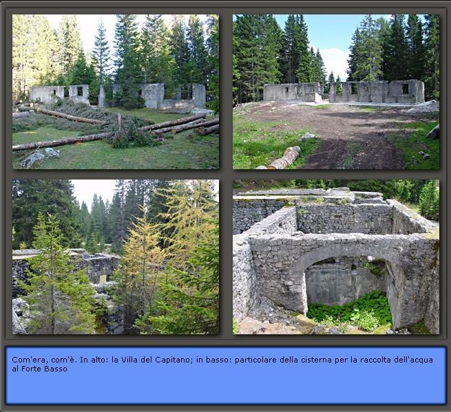 CAI e Parco della memoria a Pian dei Buoi: prima&dopo gli interventi effettuati (2)