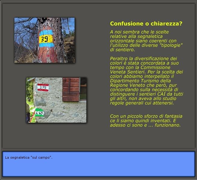 la sentieristica esistente a Lozzo di Cadore: confusione o chiarezza?