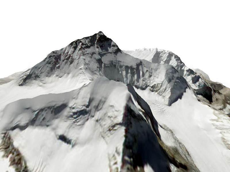 Gli 8000 della terra in 3D