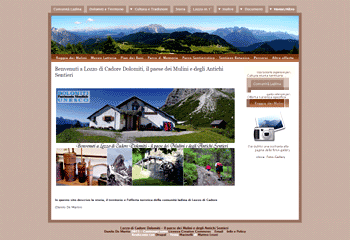 Sito web di Lozzo di Cadore