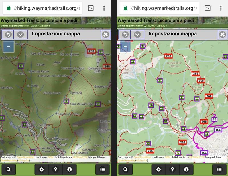 screenshott n.4 waymarkedtrails