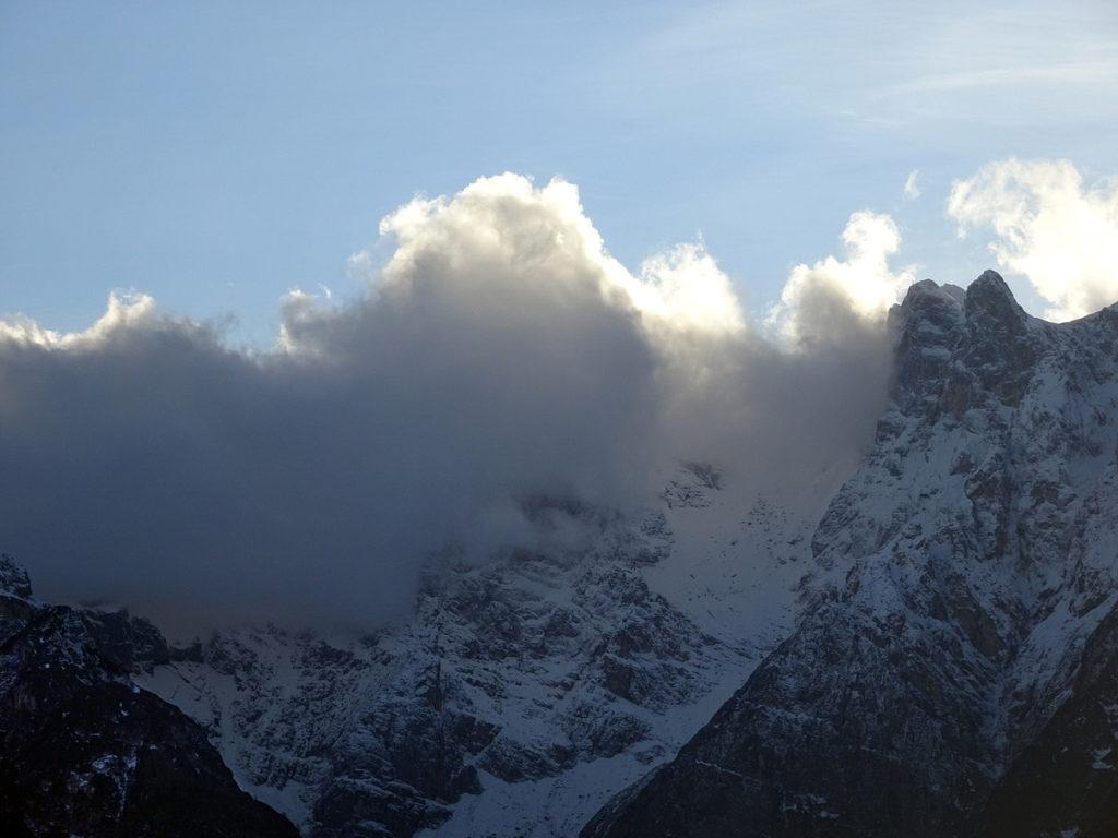Croda Bianca e Cimon del Froppa da Fagaredo in  Val Ambata