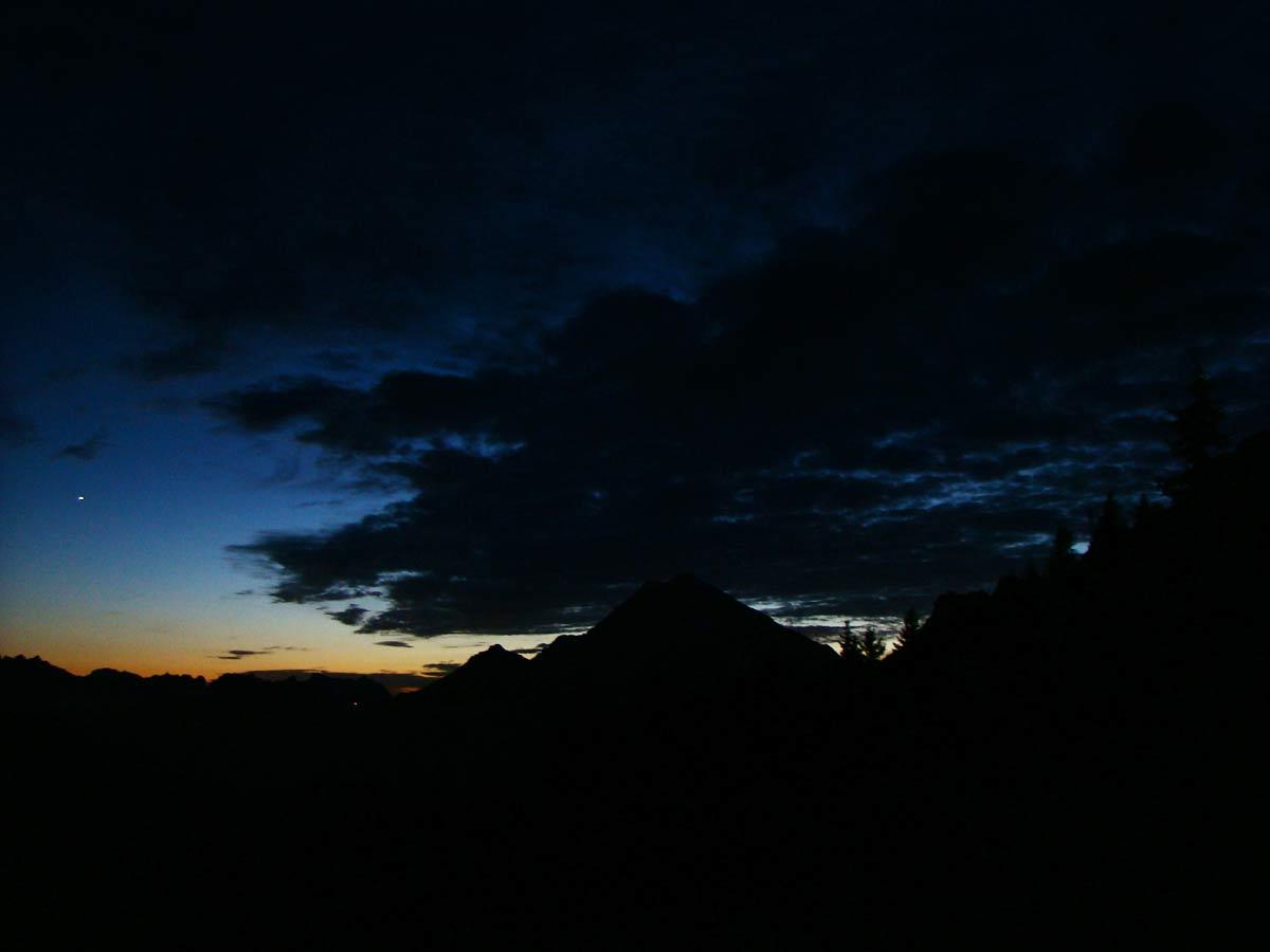 Antelao al tramonto