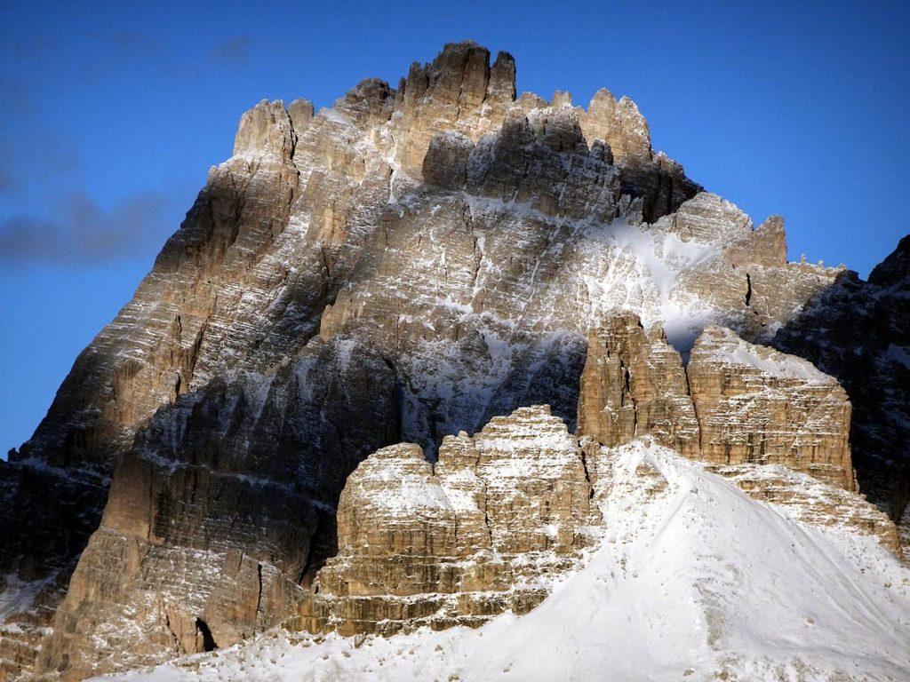 P. Tre Scarperi e T. dei Scarperi dal Monte Piana