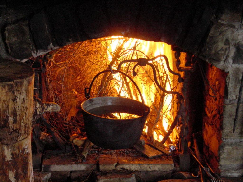Caliera sul fuoco