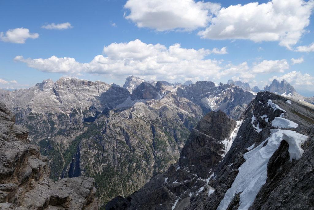 Dalla Rocca dei Baranci alle Tre Cime di Lavaredo salendo al Picco di Vallandro