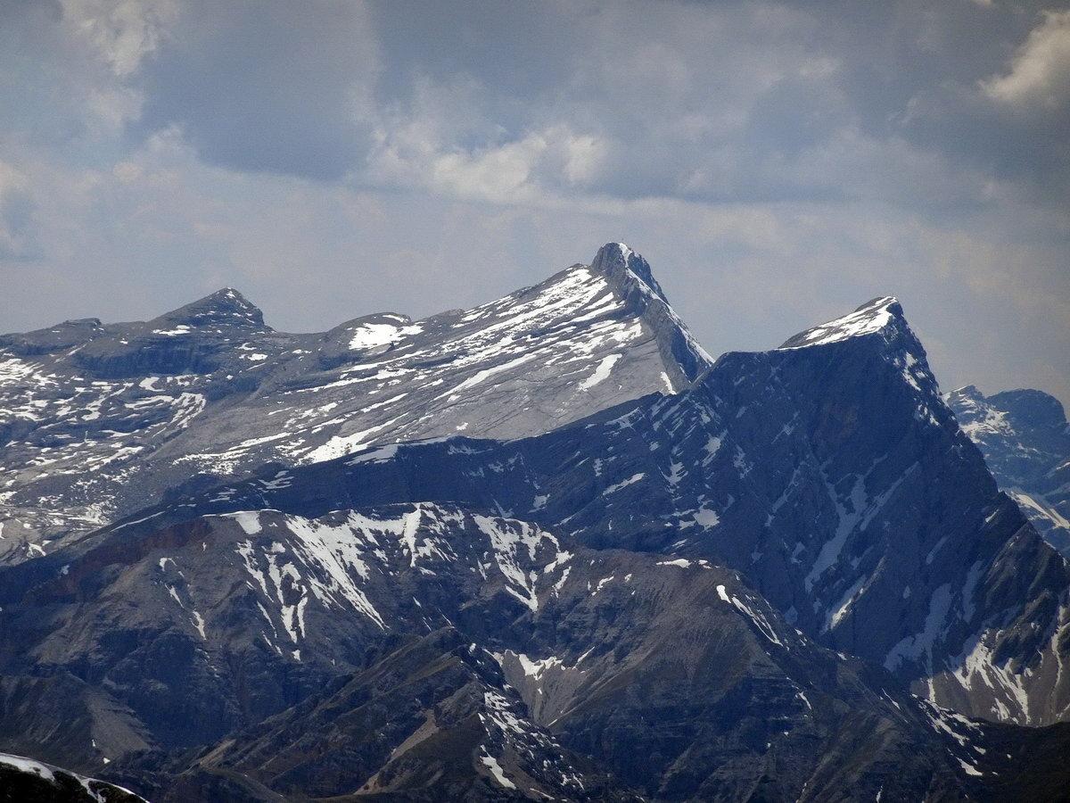 Monte Cavallo (Heiligkreuzkofel), Cima Dieci e Cima Nove dal Picco di Vallandro