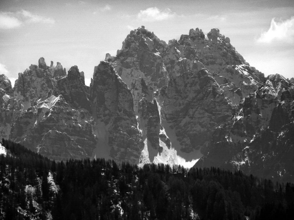 Cridola, Torre Cridola e Punta Cozzi da M. Losco