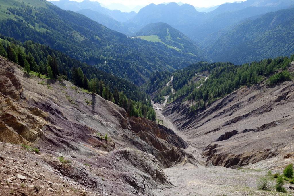 Frana (e sito geologico) sul Rio Felempecle