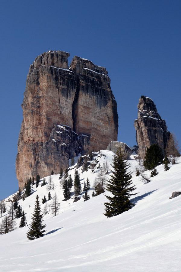 Cinque Torri: Torre Grande da est