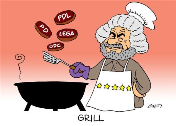 Grill - le vignette di Italia Oggi