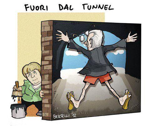 """Monti e la nuova visione """"FUORI-DAL-TUNNEL"""""""