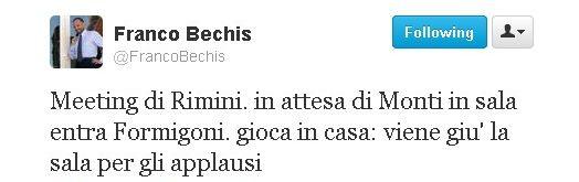 tweet di F. Bechis