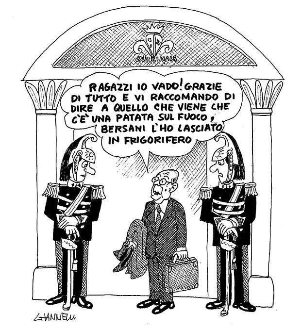 Napolitano lascia il Quirinale